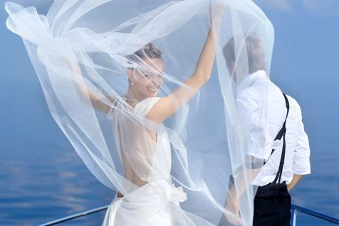 Свадьба на яхте на Нарочи